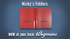 Nicky's Wholesale Durable Flexible School Folders
